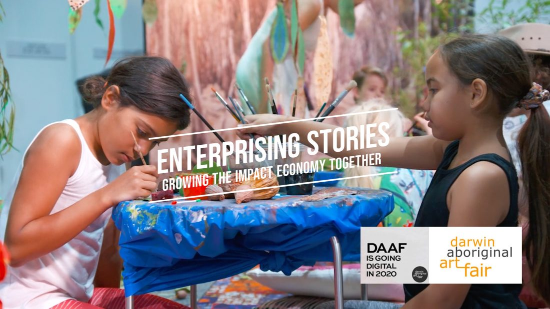 Darwin Aboriginal Art Fair x Enterprising Stories